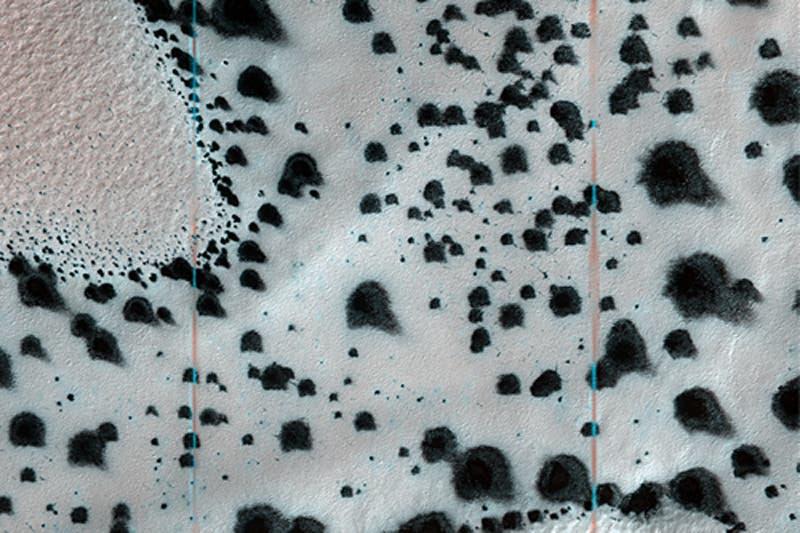 Detailaufnahme des Vulkans Malea Patera