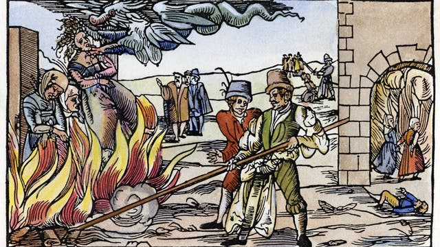 »Hexenverbrennung«
