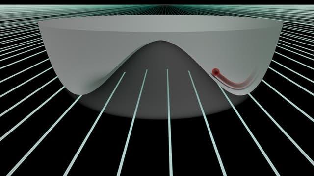 Higgs-Anregung in einem zweidimensionalen System