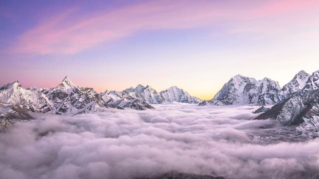Gipfel des Himalajas