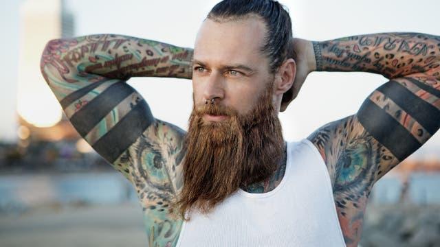Steht der Bart für Attraktivität und Männlichkeit? Die Studien ergeben kein eindeutiges Bild.