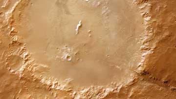 Holden Crater auf Mars