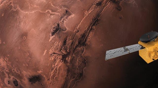 Als erste arabische Nation wollen die Vereinigten Arabischen Emirate eine Sonde zum Mars schicken. Ihr Name: Hope.