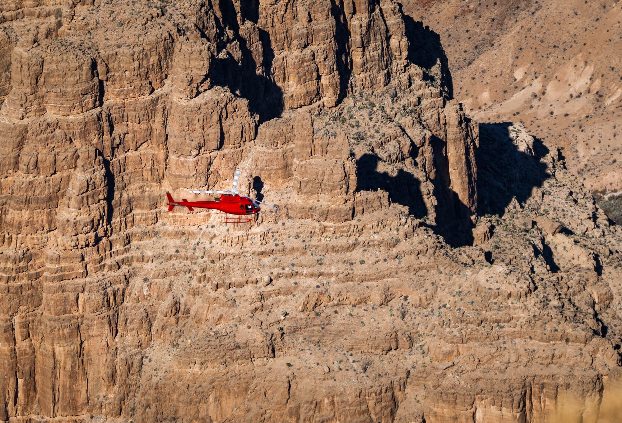 Hubschrauber-Rundflug über dem Grand Canyon