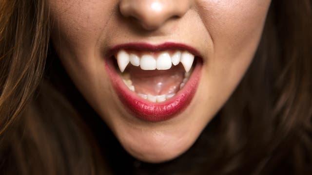 Hungriger Vampir
