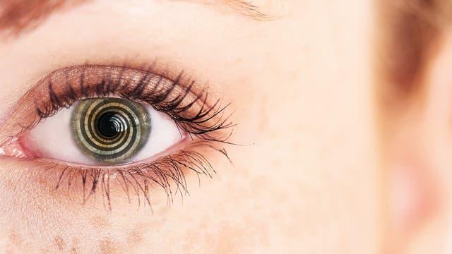 Hypnotisiertes Auge