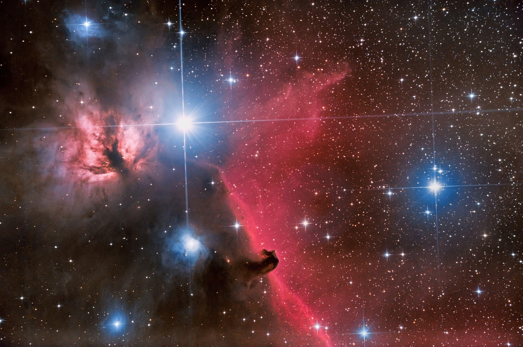 Der Pferdekopfnebel im Sternbild Orion