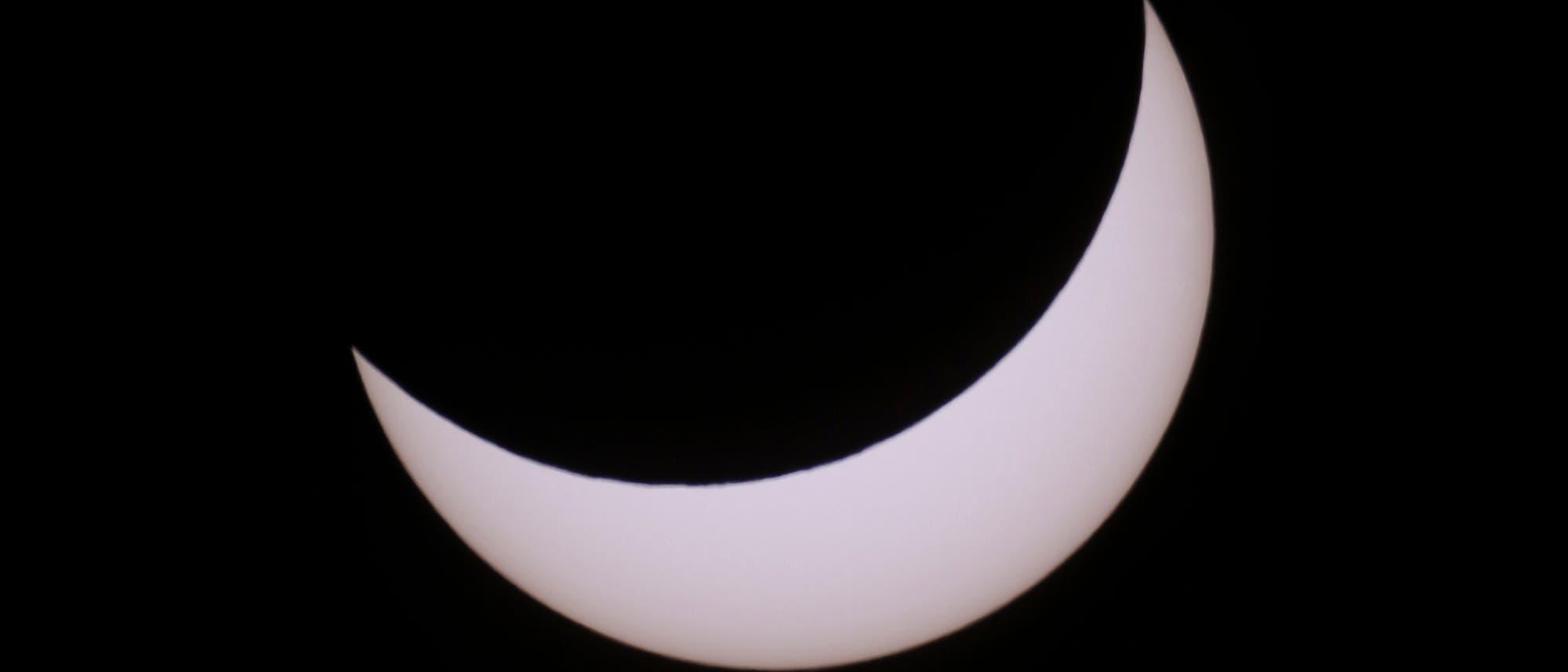 Die partielle Sonnenfinsternis vom 20. März 2015
