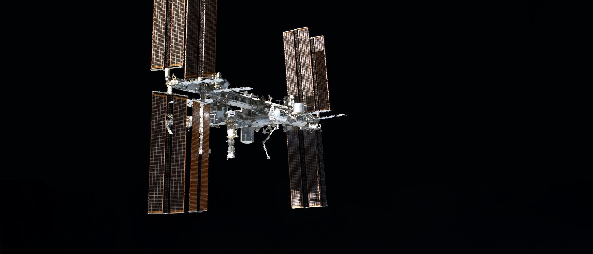 Die ISS im Orbit