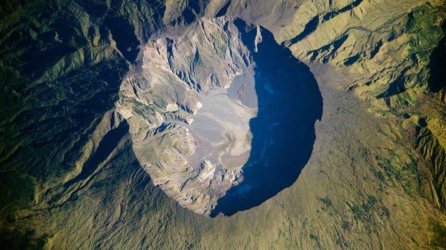 Der indonesische Vulkan Tambora sorgte vor 200 Jahren für Wetterkalamitäten