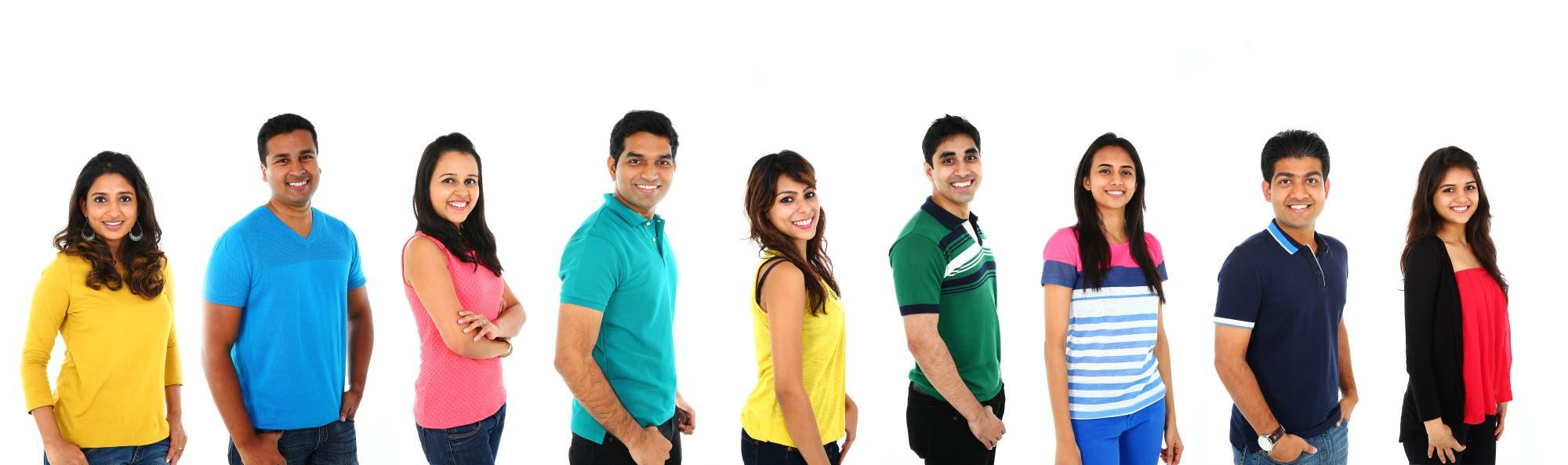 Menschen aus Indien