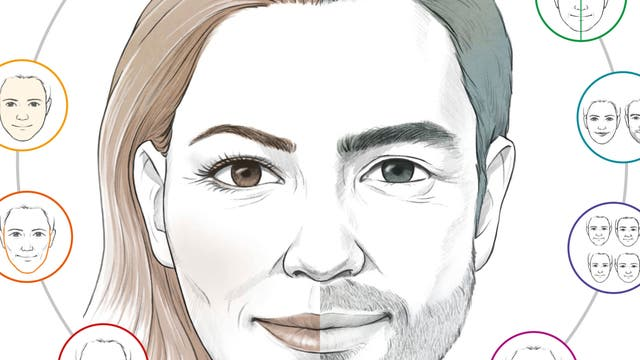 Infografik: Warum wir manche Gesichter attraktiver finden als andere