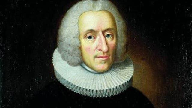 Der norwegische Pfarrer Hans Egede auf einem Bild von Johan Hörner.