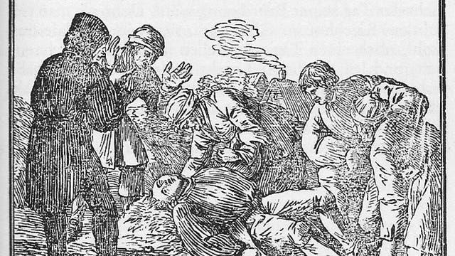 Unverhofftes Wiedersehen - Bergleute bringen nach 50 Jahren den unversehrten Leichnam eines Kumpels ans Licht.
