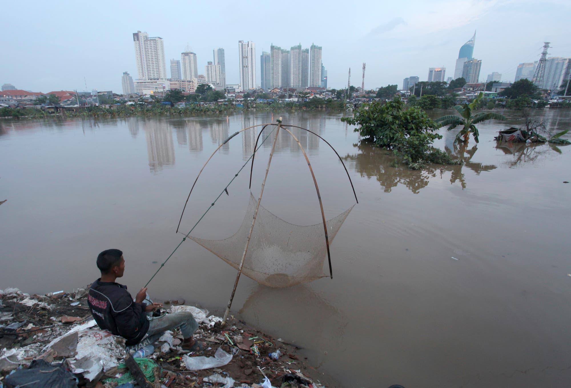 Jakarta leidet unter ständigen Überflutungen