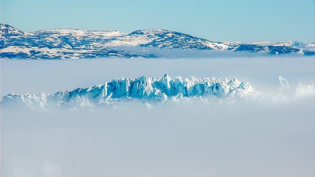 Der Jakobshavn-Gletscher gehört zu den schnellsten und mächtigsten Gletschern