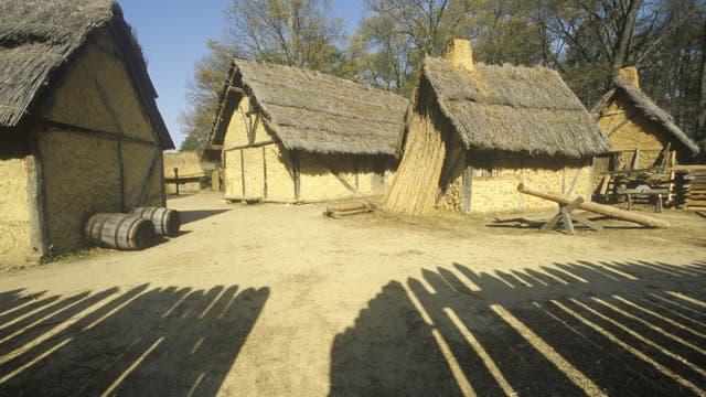 Nachbau des historischen Jamestowns