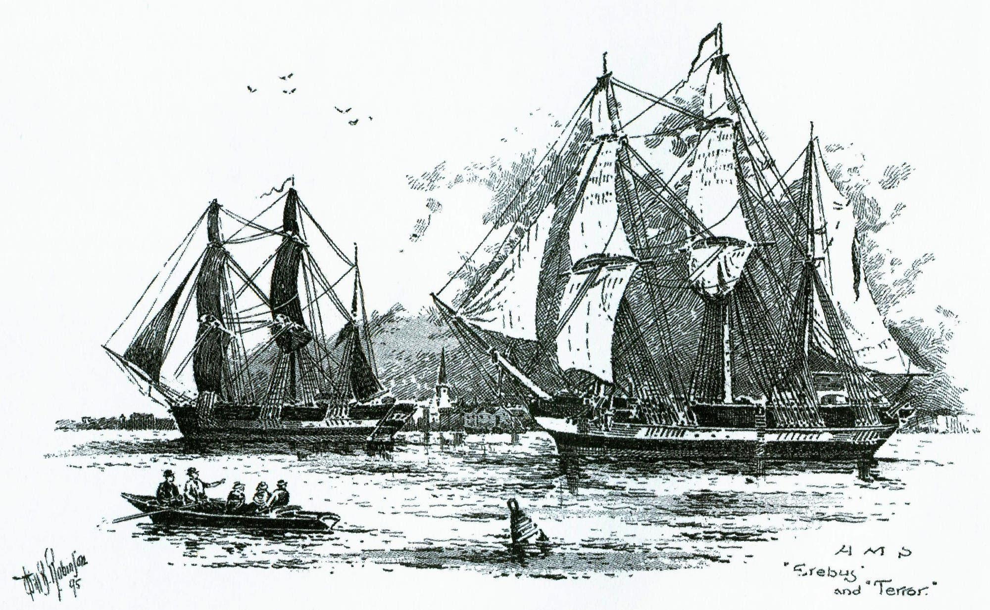 Schiffe der Arktismission