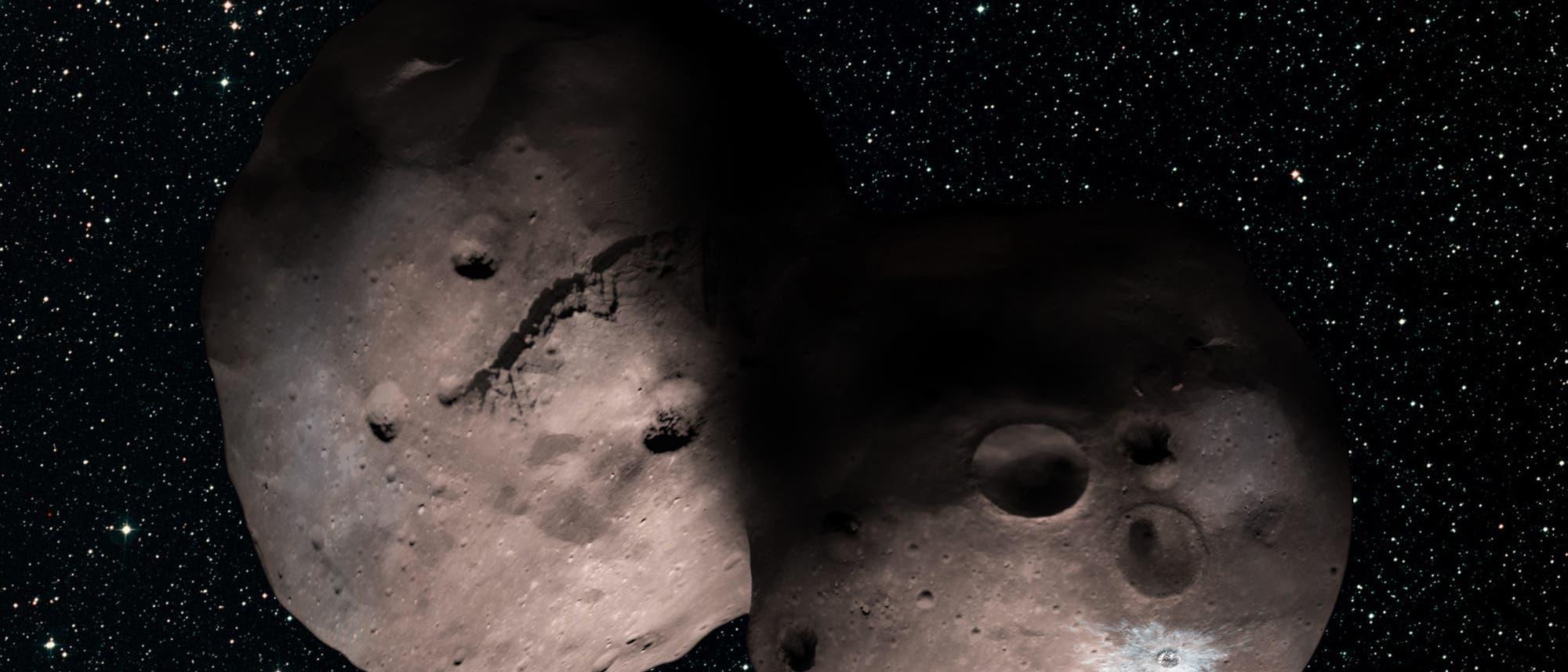 Wie könnte das Kuipergürtelobjekt 2014 MU69 aussehen?