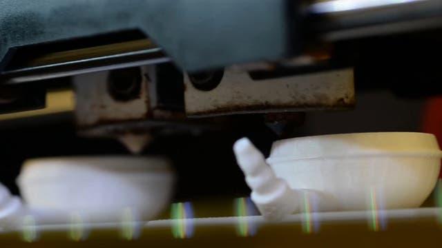 Körperteile aus dem Drucker