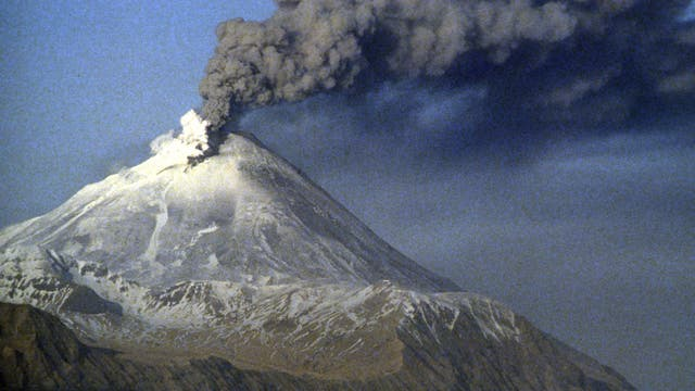 Vulkan auf den Aleuten