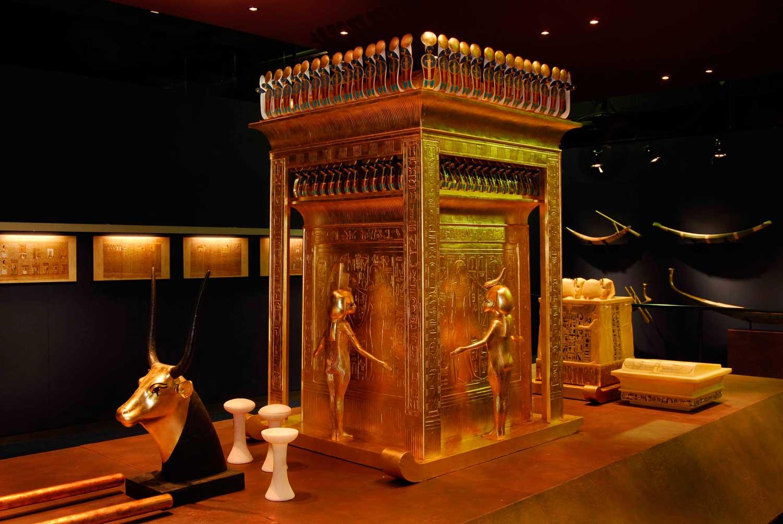 Kanopenschrein des Tutanchamun