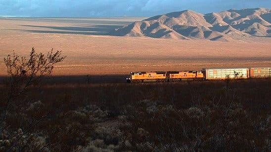 Sonnenaufgang in der Mojave