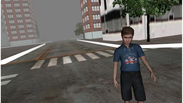 Virtuelle Stadt