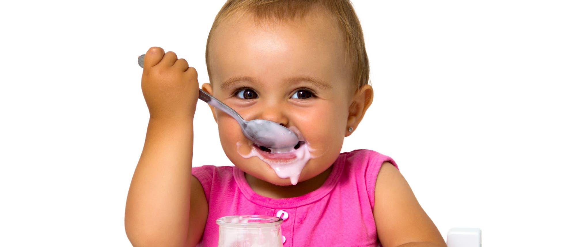 Joghurt fördert Darmflora