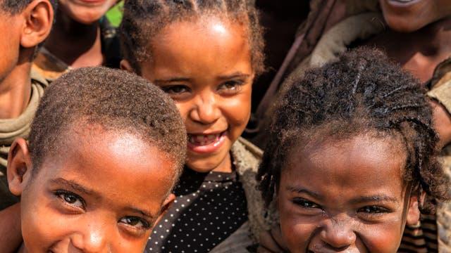 äthiopische Kinder