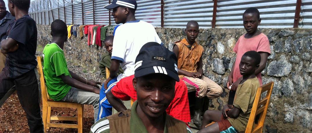 UN-Lager in Goma