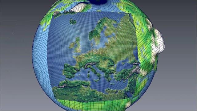 Klimaforschung: Down-, Up- und Multiscaling