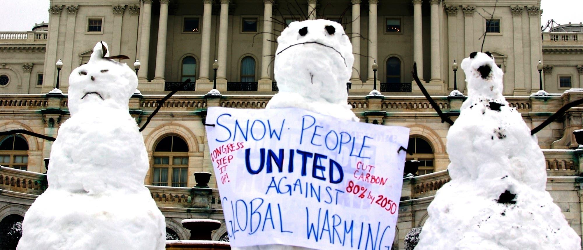 Protest gegen den Klimawandel