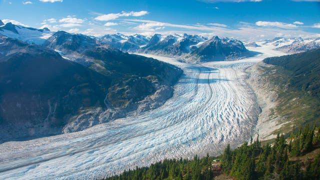 Der Klinaklini-Gletscher ist der größte Gletscher Westkanadas.