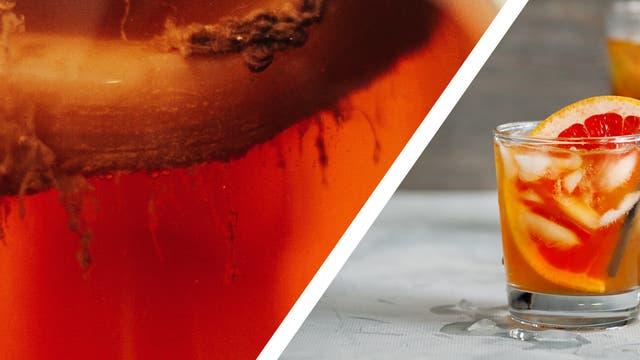 Kombucha ist das Werk von Teepilzen, einer symbiotischen Bakterien-Hefe-Kultur namens SCOBY.