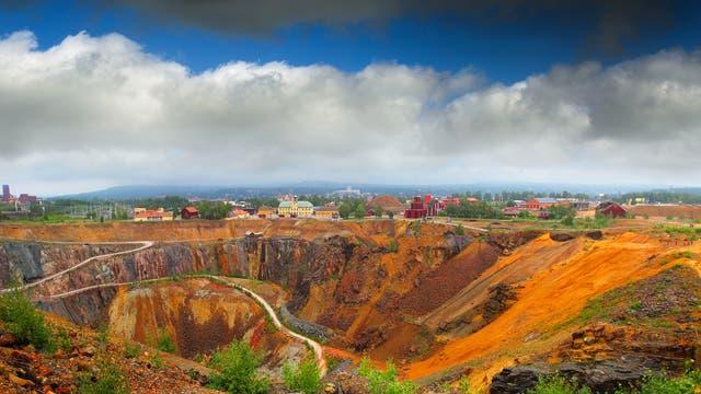 Die Kupfermine von Falun