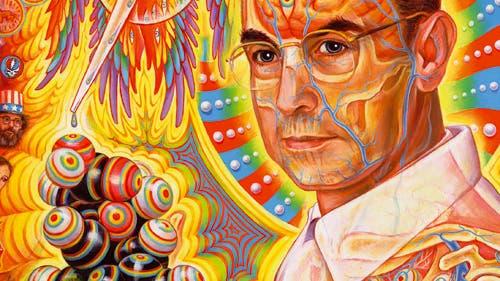 Psychedelisches Porträt