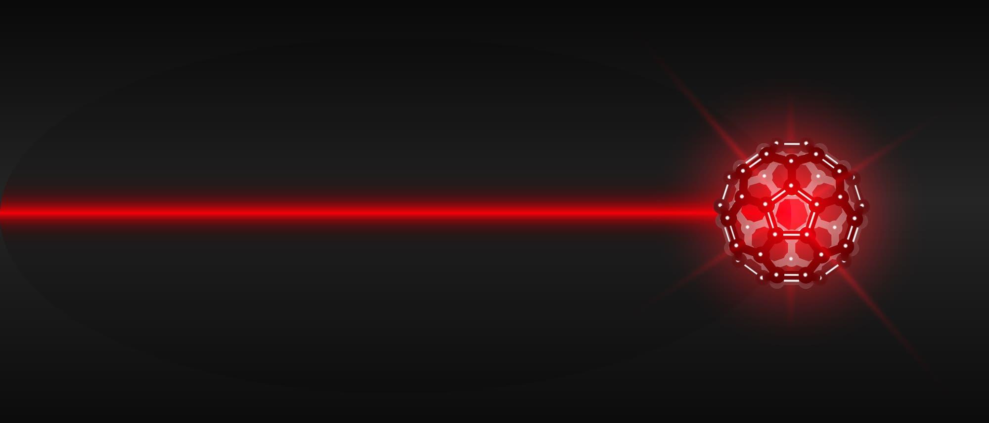 Laser trifft Fulleren
