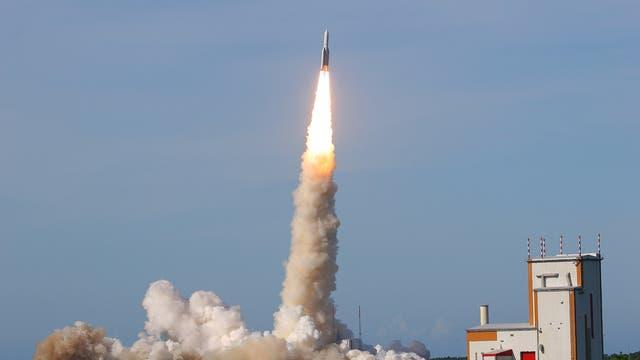 Start der Ariane 5Eca