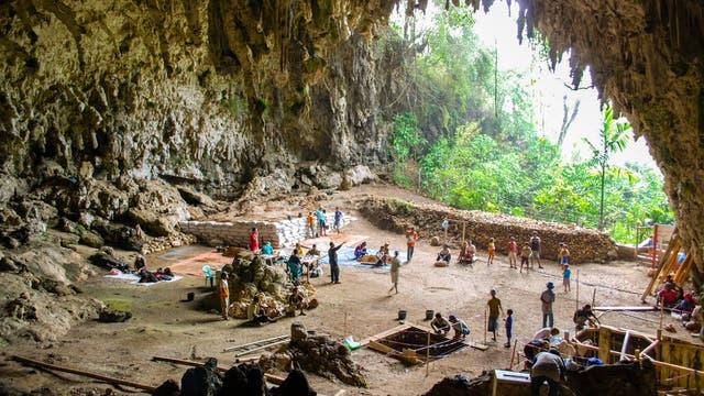 Die Liang-Bua-Höhle