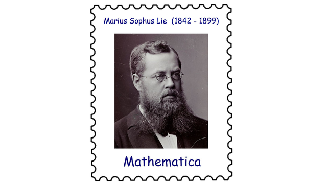 Marius Sophus Lie (1842 – 1899)