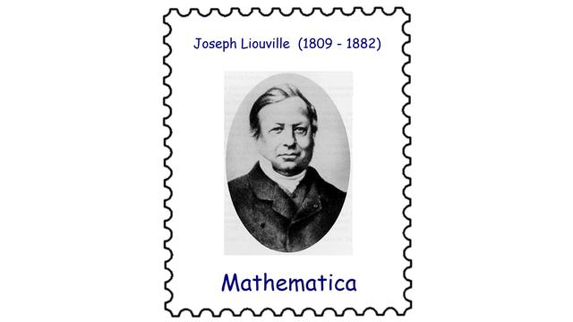 Joseph Liouville (1809–1882)