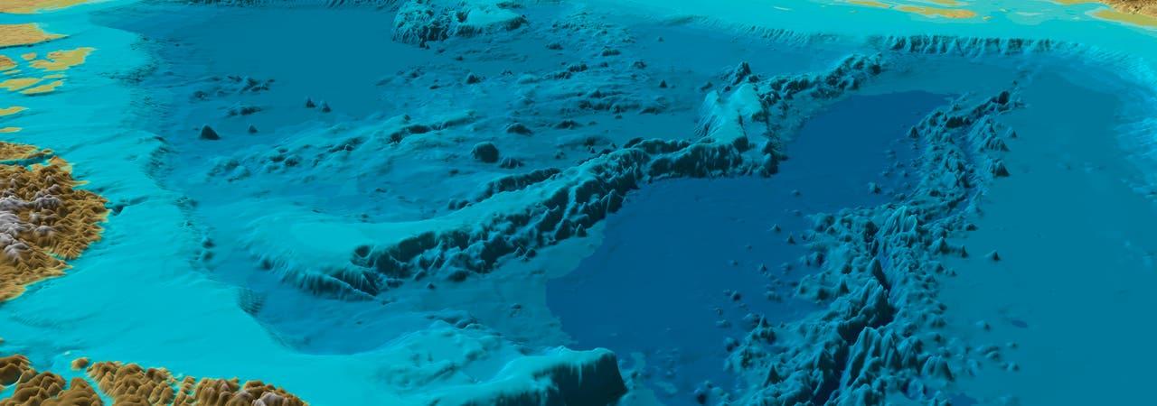 Arktischer Meeresboden