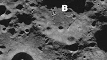 Mond Südpolregion