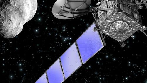 Rosetta passiert (21) Lutetia