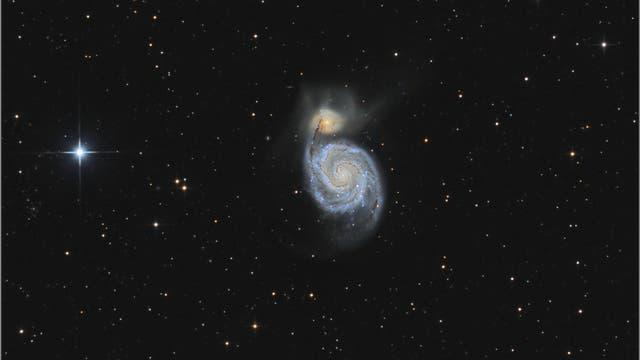 Spiralgalaxie Messier 51