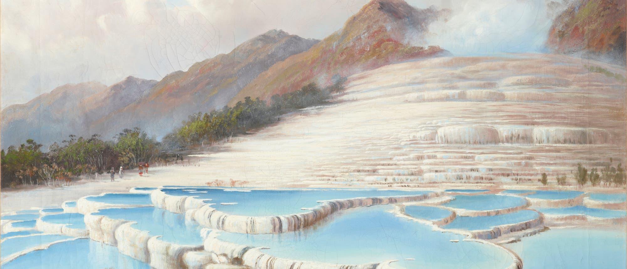 Weiße Terrassen