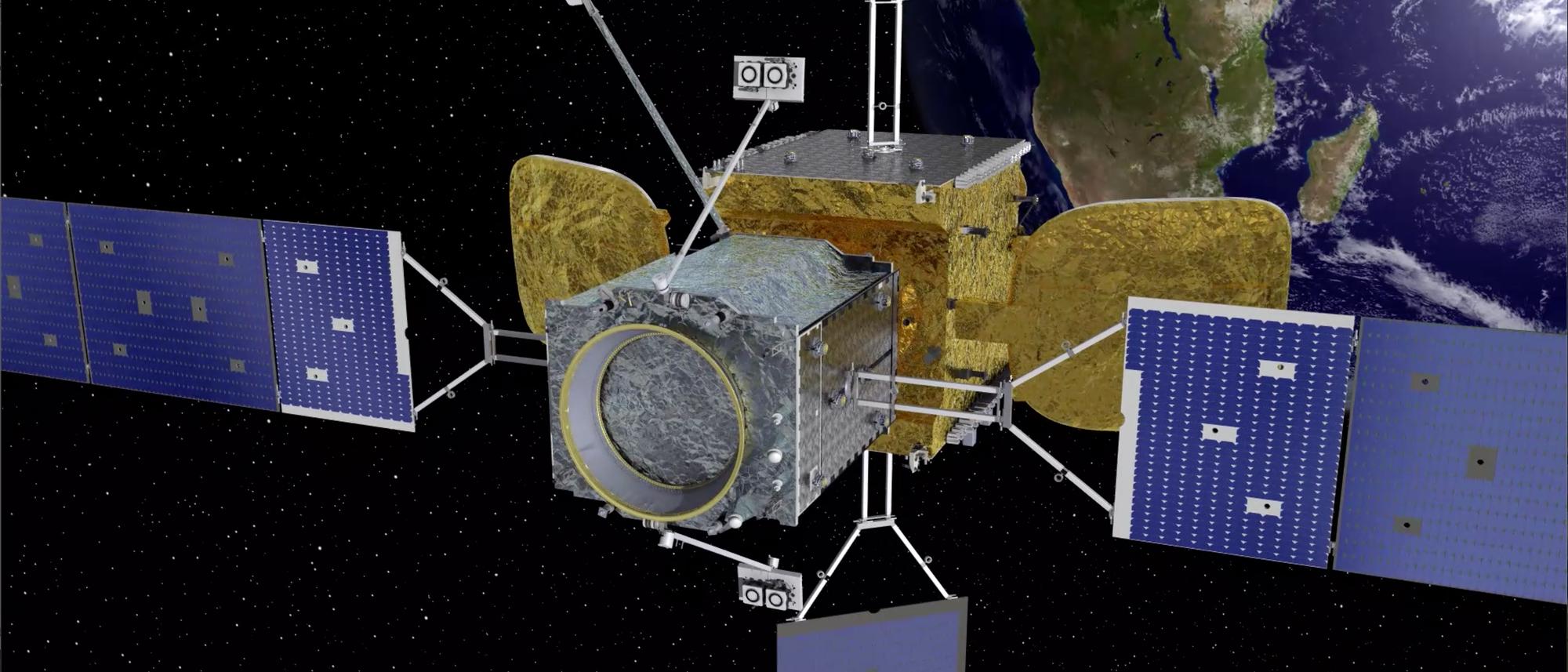 Das Mission Extension Vehicle der Firma Northrop Grumman