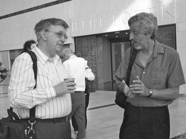 László Lovász (links) und Avi Wigderson (rechts)