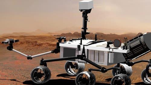 Der Marsrover Curiosity